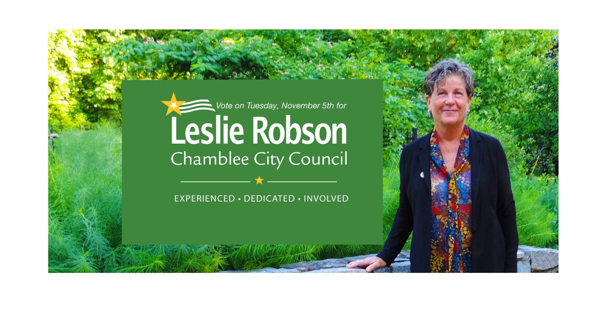 Leslie Robson for Chamblee